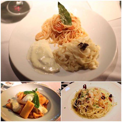 Escoge el plato de pasta que más te guste.