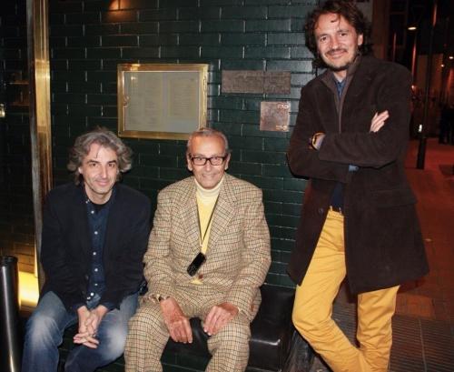 Federico Correa, Ivan Pomés y Max Llamazares Premios FAD 1974 y 2014