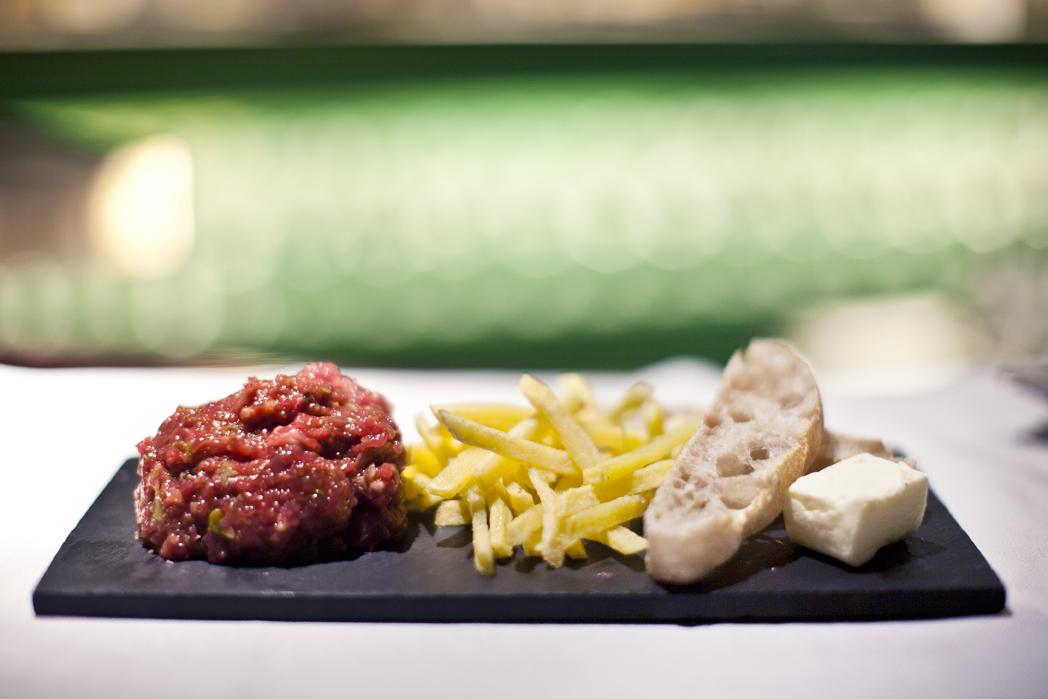 Steak Tartar especial Giardinetto